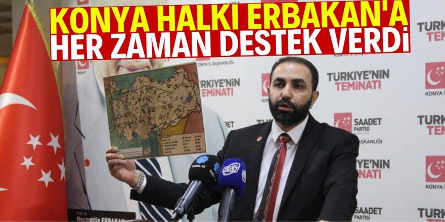 İlk adımlarını Konya'da attı