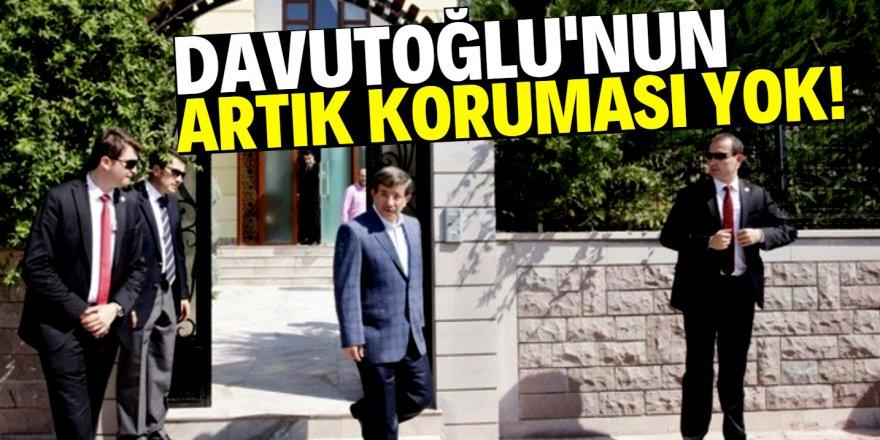 Davutoğlu'nun Konya'daki evinin koruma kararı kaldırıldı