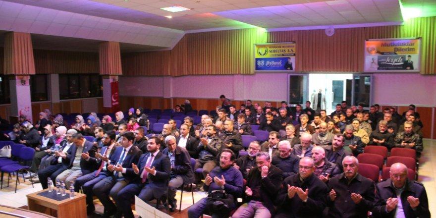 Erbakan Hoca Seydişehir'de anıldı