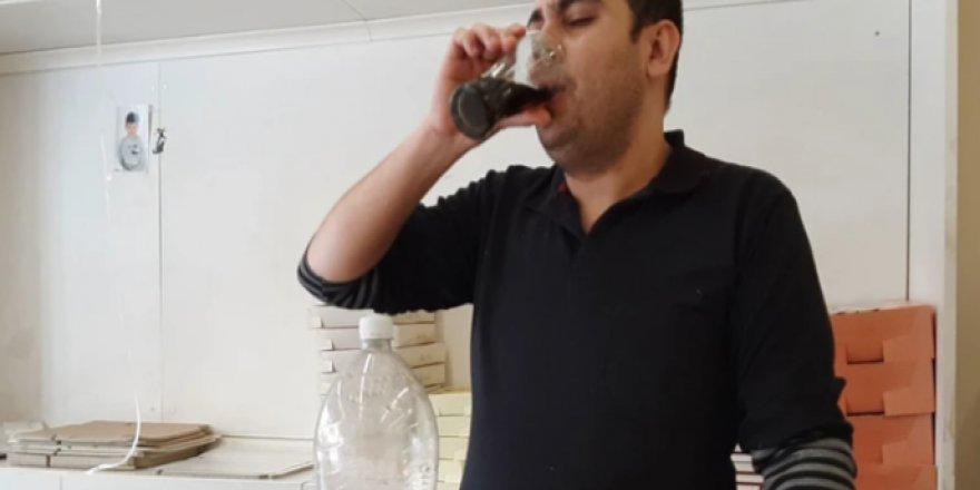 Bu adam 15 yıldır günde 5 litre kola içerek yaşıyor