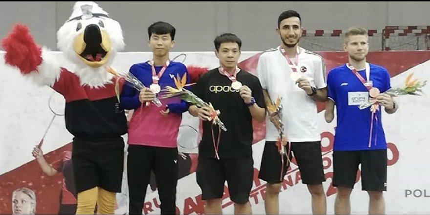 Para badmintoncular Peru'dan madalya ile döndü