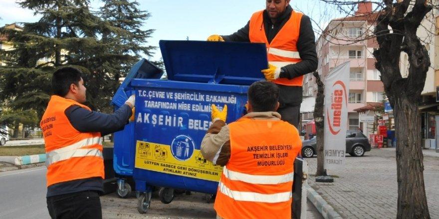"""Akşehir'de """"Sıfır Atık Projesi"""" hayata geçiyor"""