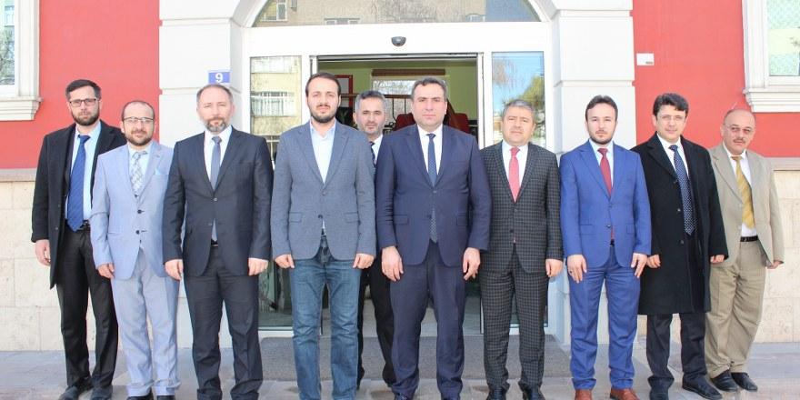 MİL-SEN'den Merhaba Gazetesi'ne ziyaret