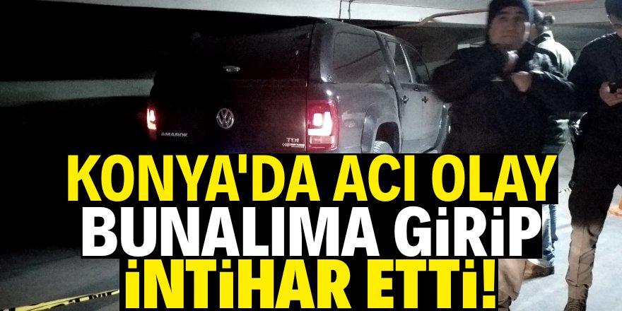 Konya'da bir intihar vakası daha!