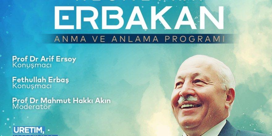 AGD'nin Erbakan'ı Anma programı iptal edildi