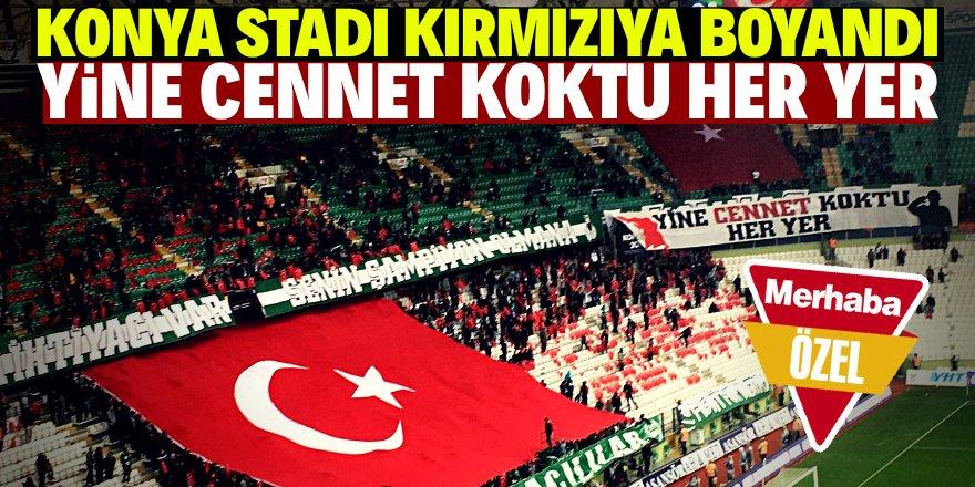 "Konya Stadyumu ""Kan Kırmızı"""