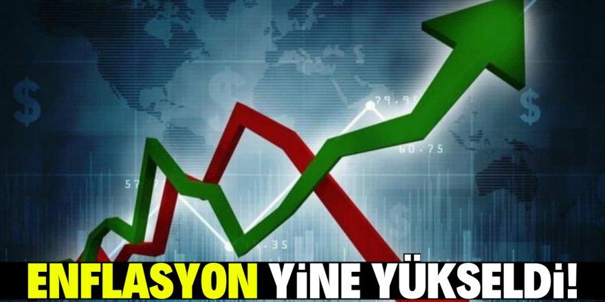 Enflasyon yine çift haneyi gördü!
