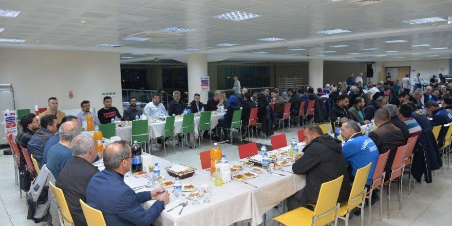 Rektör Akgül, üniversite işçileri ile bir araya geldi