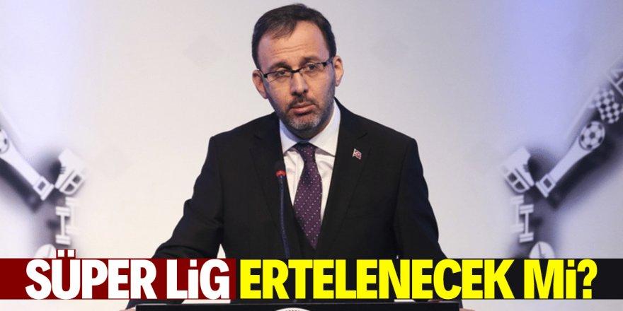 Bakan Kasapoğlu'ndan corona virüs açıklaması!