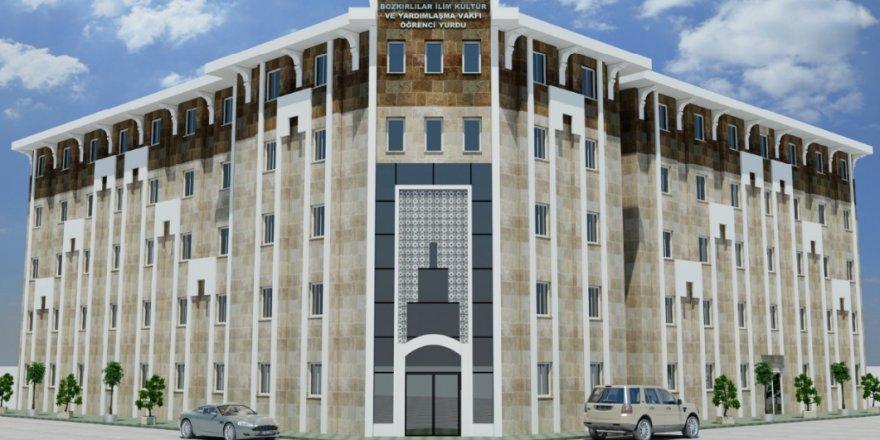 Bozkır'a 100 kişilik  bakım merkezi