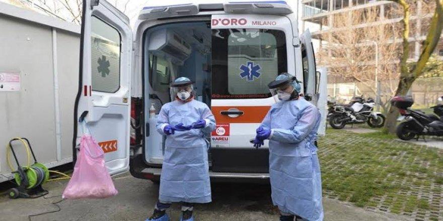 İtalya'da 24 saatte 793 kişi daha öldü