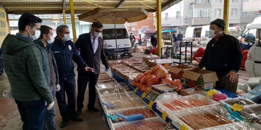 Seydişehir'de korona denetimi arttı
