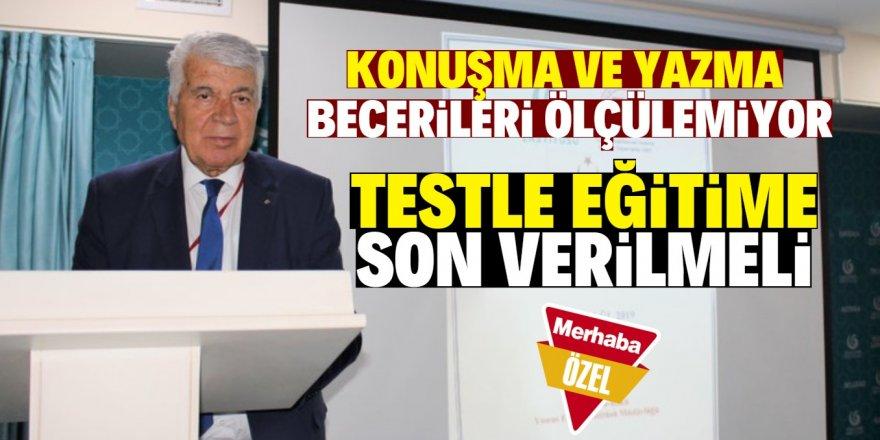 Türk dili öğretimi ihmal edilmemeli