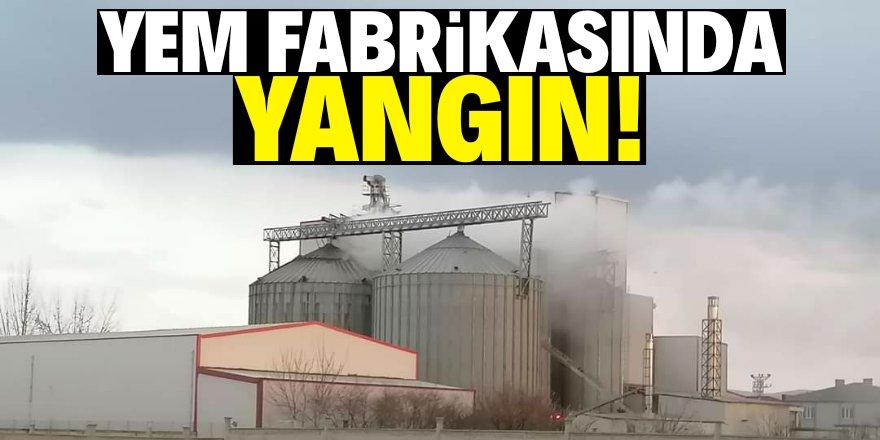 Ereğli'de fabrika yangını!