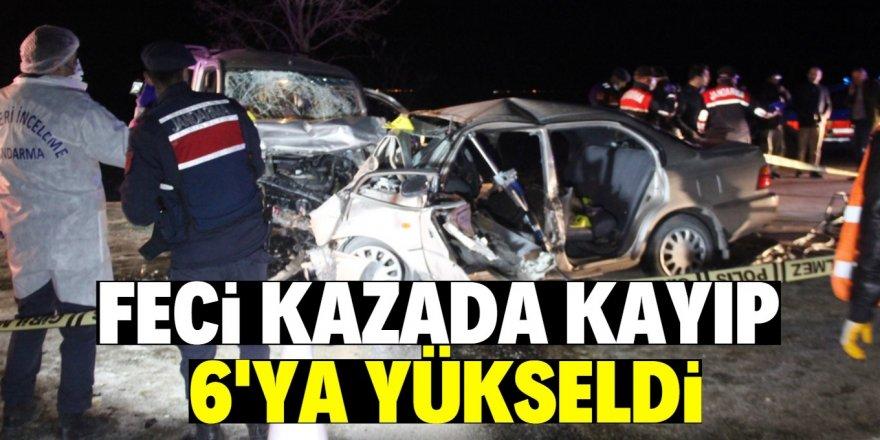 Konya'da trafik kazasında ölenlerin sayısı 6'ya yükseldi