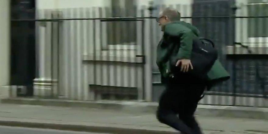 Koşarak kaçmıştı, kendini karantinaya aldı