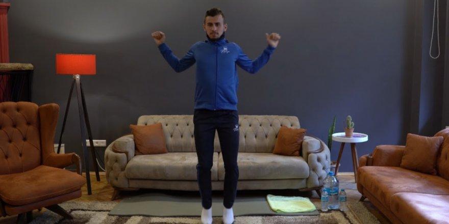 Büyükşehir'den evde spor yapmaya videolu destek