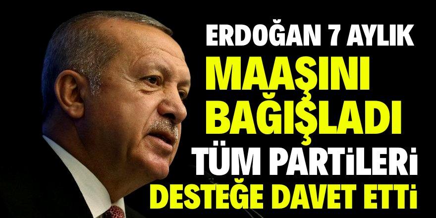 """Erdoğan: """"Hayır yarışında yerinizi alabilirsiniz"""""""