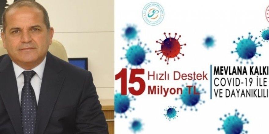 MEVKA'dan 15 milyon TL destek