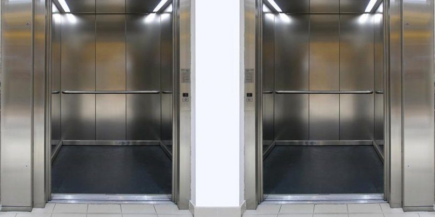 Asansörlerde hijyene dikkat