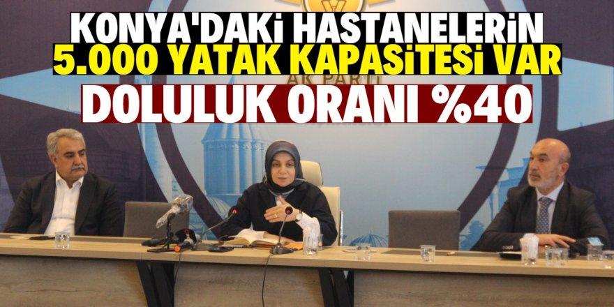 """Usta: """"Konya merkezli vaka yok denilecek kadar az"""""""