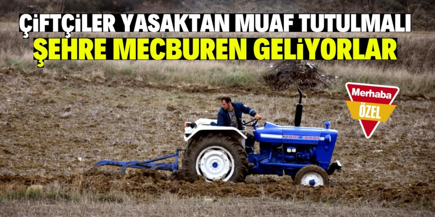 Tarımsal üretimedarbe vurulmasın