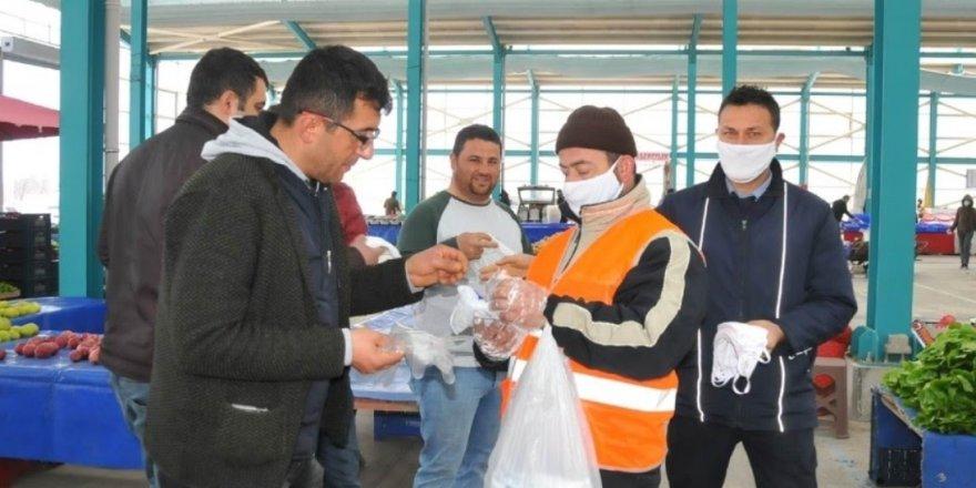 Akşehir'de önleyici  çalışmalar sürüyor