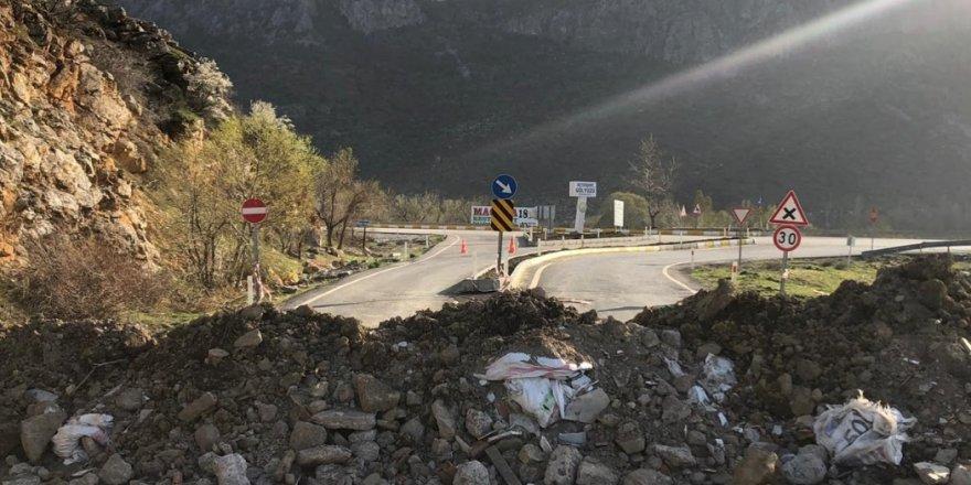 Seydişehir'de kontrolsüz yollar kapatıldı