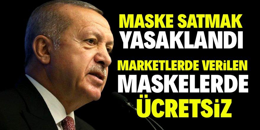 Cumhurbaşkanı Erdoğan'dan corona tedbirleri açıklaması!
