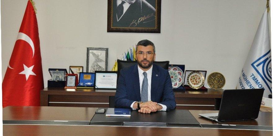 """MMO Konya Şube Başkanı Dr. Altun: """"Her saat 15 dakika ortam havalandırılmalı"""""""