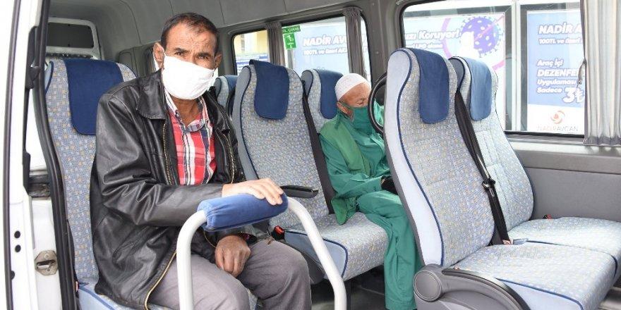 Konya'da diyaliz hastalarının ulaşım sorunu çözüldü