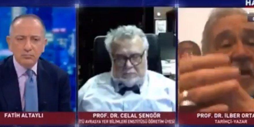 Prof. Celal Şengör canlı yayında uyuyakaldı