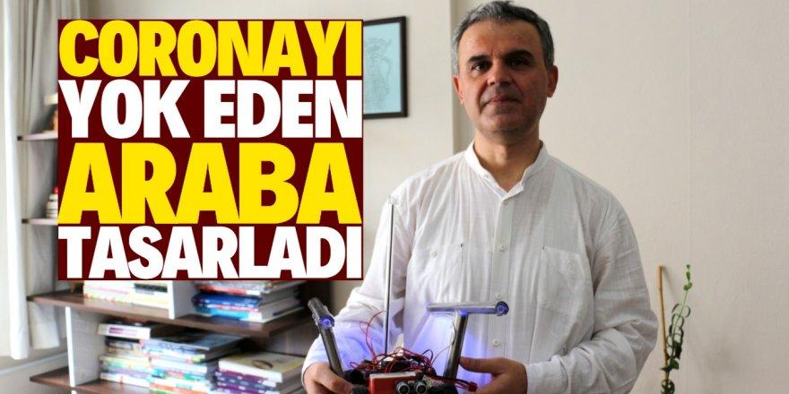 Konya'da coronayı yok eden araba tasarlandı