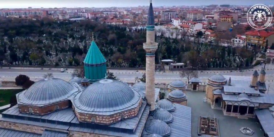 Konyaspor'dan Mevlana mesajlı kısa film