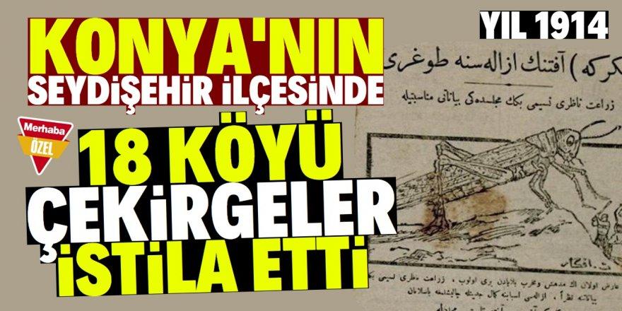Seydişehir halkı iki yıl mahsul alamadı