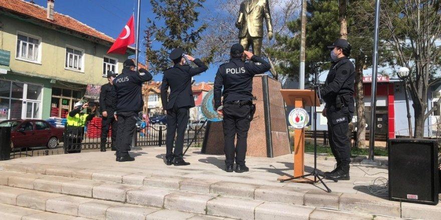 Hüyük'te Türk Polis Teşkilatı'nın 175. yıldönümü kutlandı