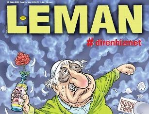 LEMANın Gülen karikatürü dillerde