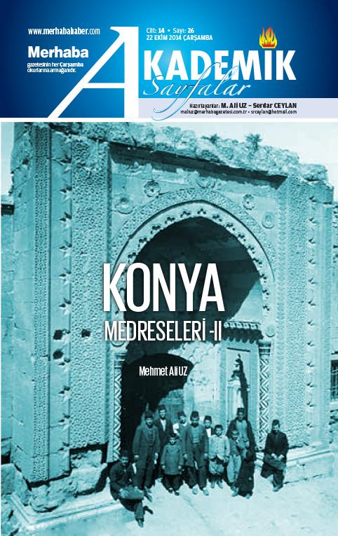Cilt-14, Sayı-26, 22 Ekim 2014