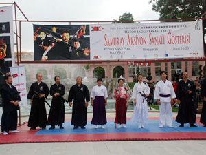 Japon kültürü tanıtılıyor