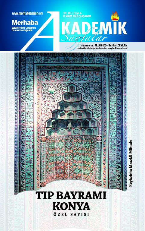 Cilt-15, Sayı-6, 11 Mart 2015