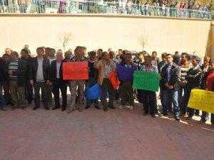 İşsiz kalan maden işçileri çözüm istiyor