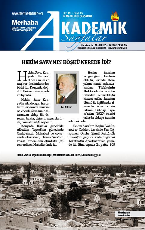Cilt-15, Sayı-15, 27 Mayıs 2015