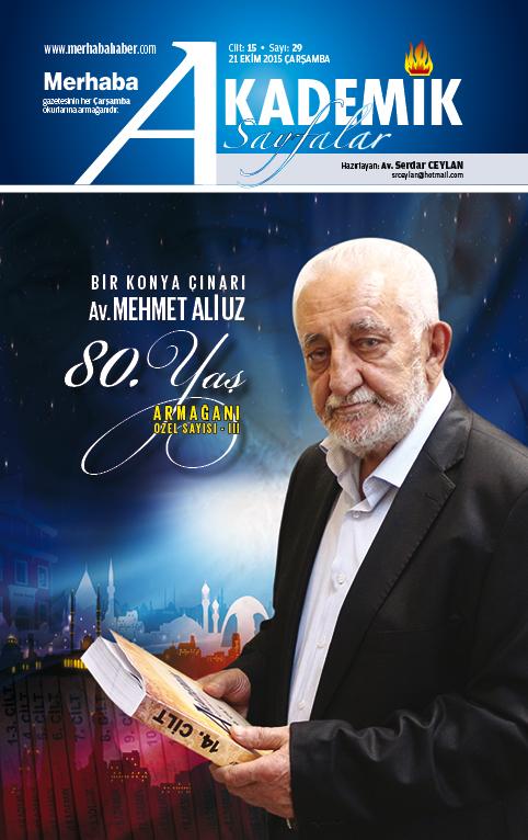 Cilt-15, Sayı-29, 21 Ekim 2015