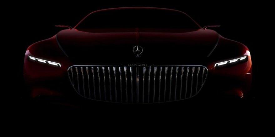 Vision Mercedes-Maybach 6 ortaya çıktı
