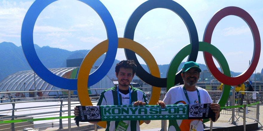 Rio'ya Konyaspor sevgisini de götürdü