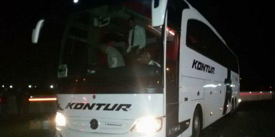 Konyalı otobüs firmasından namaz özrü