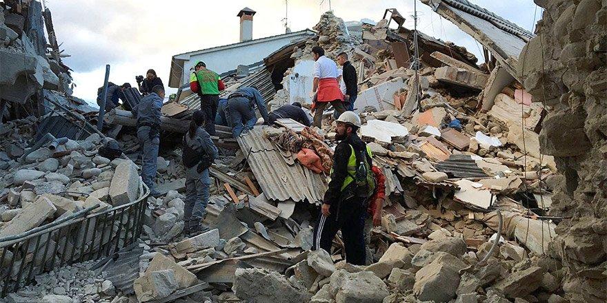 Avrupa'da şiddetli deprem!