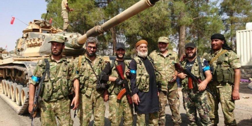 Suriye'deki Türkmen Birlikler Türk tanklarını karşıladı