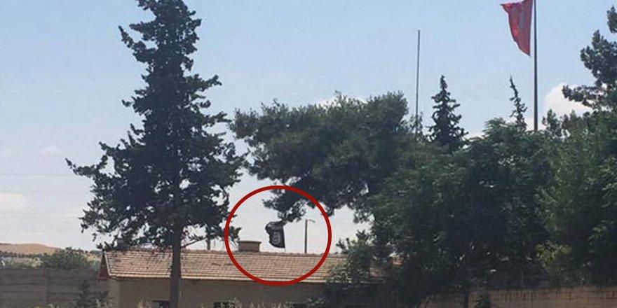 Karkamış'taki IŞİD bayrağı indirildi