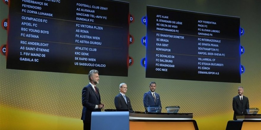 UEFA Avrupa Ligi'ndeki rakiplerimizi tanıyalım